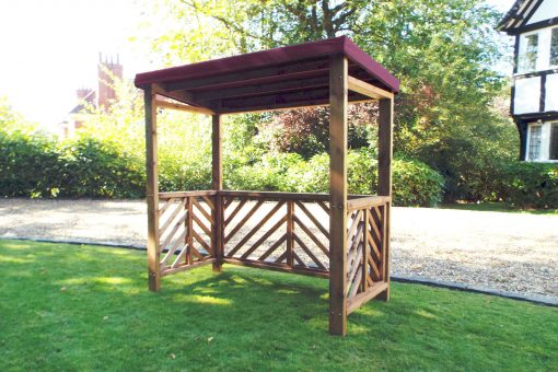 BBQ Shelter - Wooden BBQ Shelters