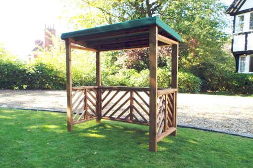 Wooden BBQ Shelter