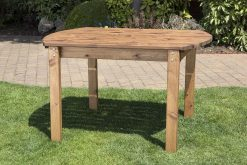 4 Seater Outdoor Wooden Table - Solid Wood Patio Garden Furniture