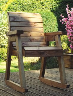 Rocking Chair - Outdoor Rocking Chair - Outdoor Wood Rocking Chair