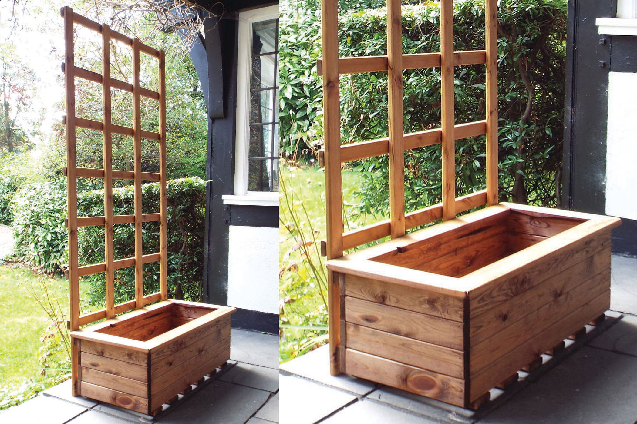 Bbq Islands For Sale >> Trough Planter | Wooden Trellis | Trellis Planter Online