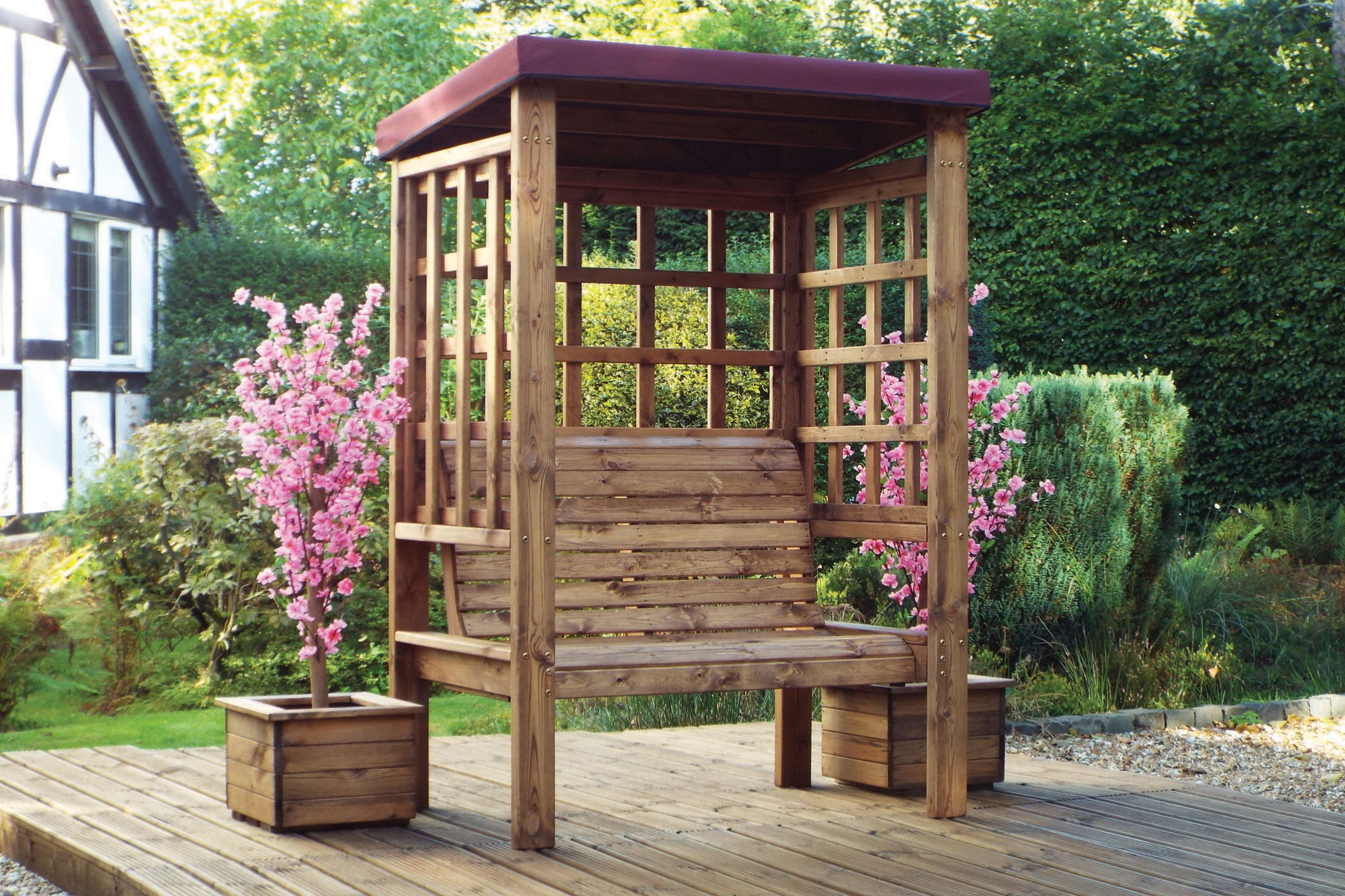 Arbours With Seats Wooden Arbour Online Furniture